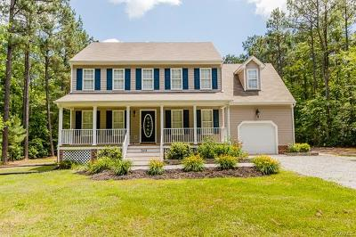 King William Single Family Home For Sale: 2614 East River Road