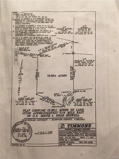 Hanover Residential Lots & Land For Sale: Route 1