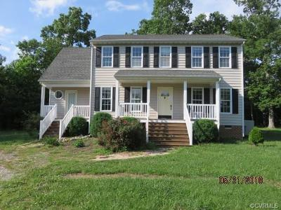 Amelia County Single Family Home For Sale: 15941 Ravencrest Court