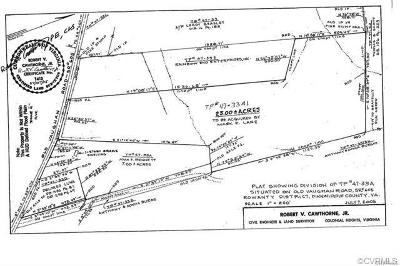 Dinwiddie County Residential Lots & Land For Sale: 24004 Old Vaughan Road