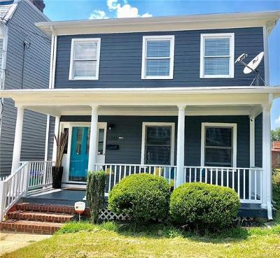 Richmond Single Family Home For Sale: 1315 Decatur Street