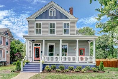 Richmond Single Family Home For Sale: 3109 Forest Hill Avenue
