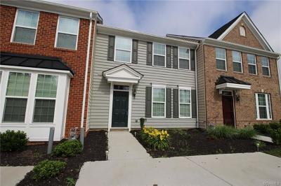 Chesterfield Condo/Townhouse For Sale: 11604 Claimont Mill Drive #D-B