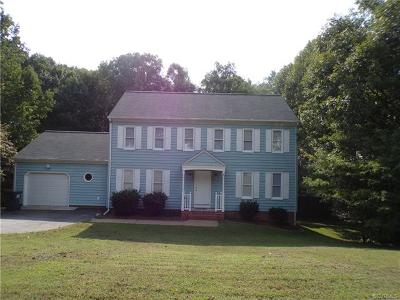 Richmond Single Family Home For Sale: 7612 Belmont Stakes Drive