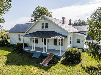 Powhatan County Single Family Home For Sale: 3141 Trenholm Road