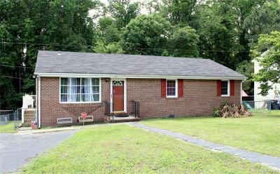 South Chesterfield Single Family Home For Sale: 20508 Ravensbourne Drive