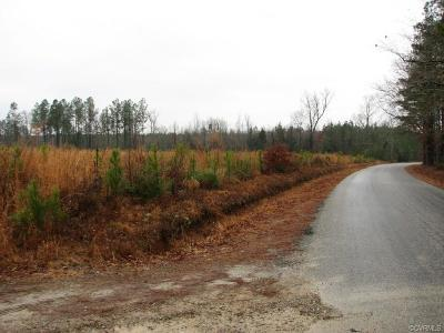 Dinwiddie County Residential Lots & Land For Sale: Old Stage Road