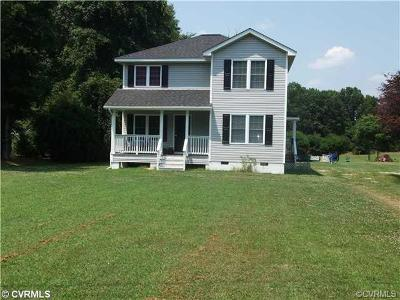 Powhatan County Single Family Home For Sale: 4092 A Old River Trail