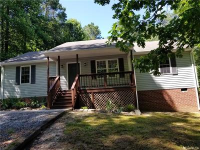 Aylett Single Family Home For Sale: 64 Rosewood Court