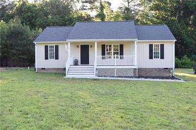 King William Single Family Home For Sale: 85 White Bank Road