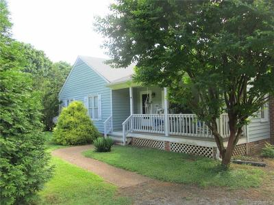Powhatan Single Family Home For Sale: 1800 Rocky Ford Road