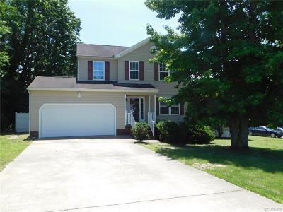Chester Single Family Home For Sale: 2819 Feddo Court