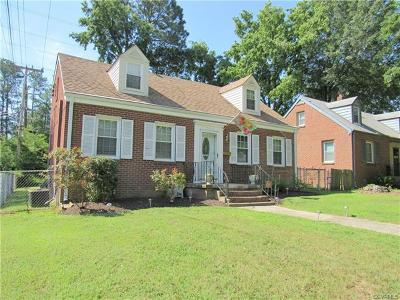 Petersburg Single Family Home For Sale: 902 Hampton Road