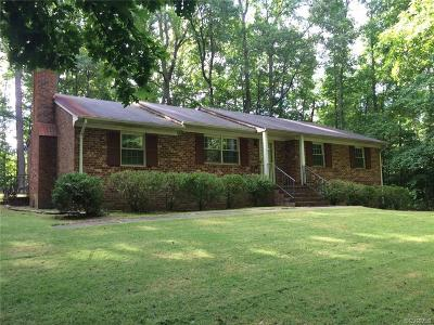 Midlothian Single Family Home For Sale: 31 County Line Road