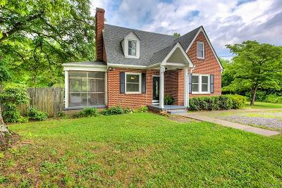 Chester Single Family Home For Sale: 11500 Womack Road