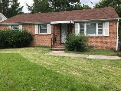 Petersburg Single Family Home For Sale: 325 St Luke Street