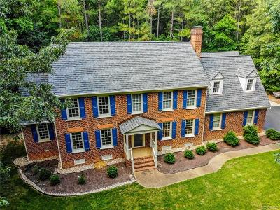 Chesterfield Single Family Home For Sale: 9160 Whistling Swan Road