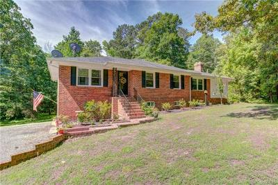 Mechanicsville Single Family Home For Sale: 3375 Black Creek Drive