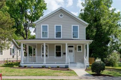 Richmond Single Family Home For Sale: 3518 Moody Avenue
