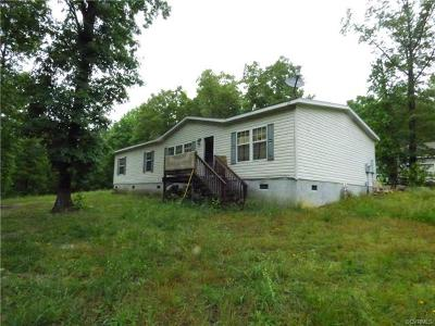 Amelia VA Single Family Home For Sale: $99,950