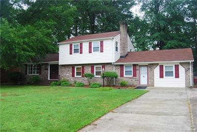 Colonial Heights Single Family Home For Sale: 4801 Conduit Road