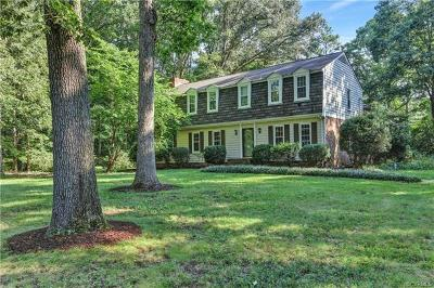 Midlothian Single Family Home For Sale: 1601 Black Heath Road