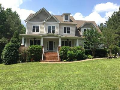 Powhatan County Single Family Home For Sale: 3862 Mill Mount Court