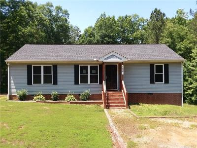 Charles City VA Single Family Home Sold: $165,117