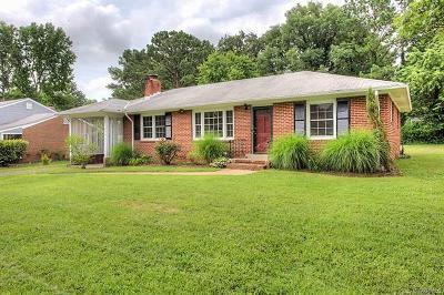 Richmond Single Family Home For Sale: 1218 Huntland Road