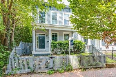 Richmond Single Family Home For Sale: 132 South Cherry Street