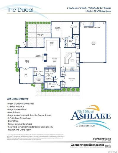 Chesterfield Condo/Townhouse For Sale: 7531 Ashlake Commons Drive #AL9-1