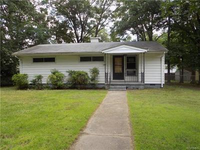 Hopewell Single Family Home For Sale: 1404 Terrace Avenue