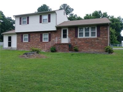 Dinwiddie Single Family Home For Sale: 4100 Henshaw Drive