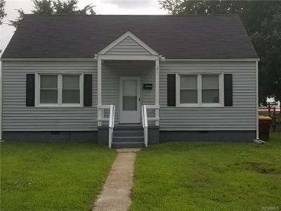 Petersburg Single Family Home For Sale: 1911 Oakland Street
