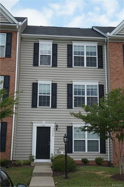 Chester Condo/Townhouse For Sale: 3006 Perdue Springs Lane #3006