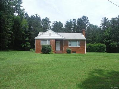 Henrico Single Family Home For Sale: 8300 Sunday