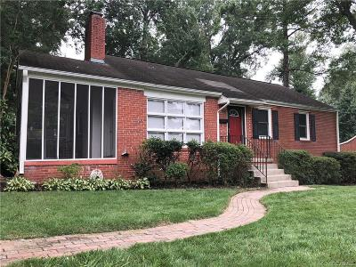 Henrico Rental For Rent: 7505 Westfield Road