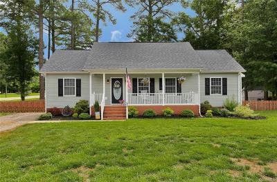 Dinwiddie County Single Family Home For Sale: 4097 Kenneth Drive
