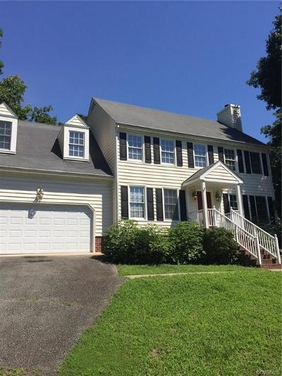Henrico Rental For Rent: 12745 Stonebriar Lane