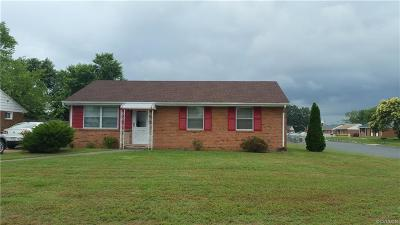 Henrico Single Family Home For Sale: 3320 Jowin Lane
