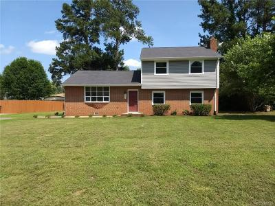 South Chesterfield Single Family Home For Sale: 20201 Loyal Avenue