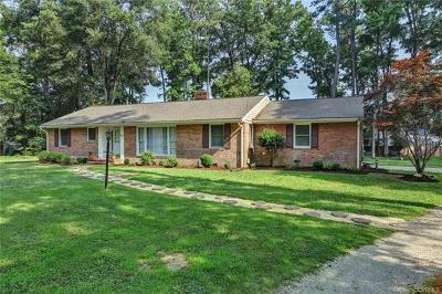 Chester Single Family Home For Sale: 1629 Forest Glenn Circle