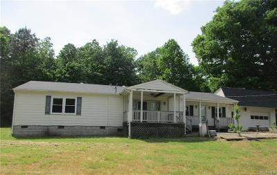 Charles City Co. County Single Family Home For Sale: 4503 Cool Hill Road