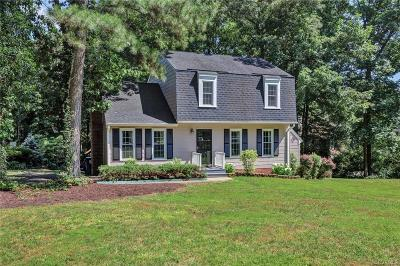 Midlothian Single Family Home For Sale: 3101 Woodsong Drive