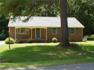 South Chesterfield VA Single Family Home Sold: $159,750