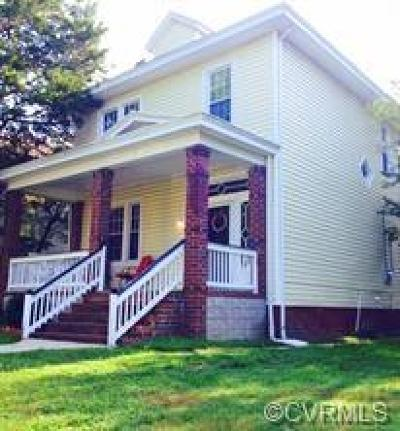 Richmond Single Family Home For Sale: 2913 Montrose Avenue
