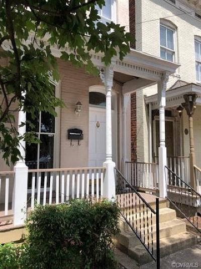 Richmond Single Family Home For Sale: 2820 East Marshall Street