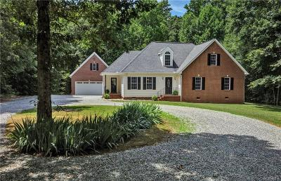 Powhatan Single Family Home For Sale: 2639 Red Lane Road