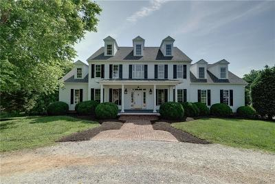 Goochland County Single Family Home For Sale: 650 Meadow Ridge Lane