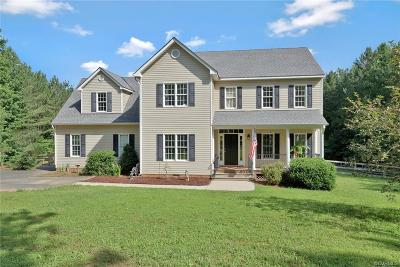 Powhatan County Single Family Home For Sale: 2650 Steger Creek Road
